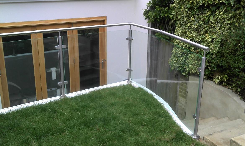 Balustrades in a garden